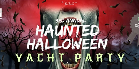 Haunted Halloween Yacht Party ($500 Prize) tickets