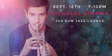 Live Jazz in Syracuse! Nicholas DiMaria  Quartet at Jus Sum Jazz tickets