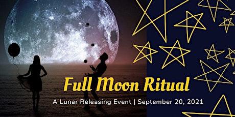 Full Moon Releasing Ritual - September 2021 tickets