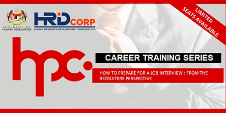 HPC TRAINING SERIES : INTERVIEW PREPARATION  - THE RECRUITERS PERSPECTIVE tickets