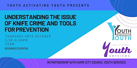 Understanding the Issue of Knife Crime and Tools for Prevention tickets