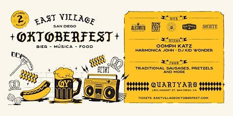 Oktoberfest in East Village tickets