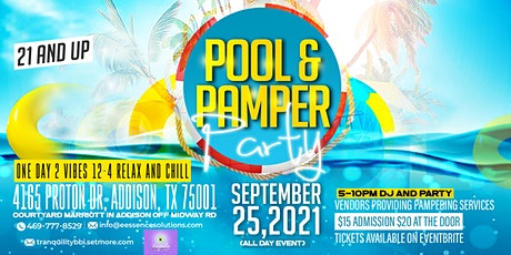 Pool and Pamper Party tickets