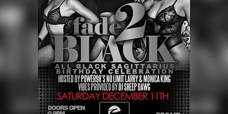 Mario Hines official Fade 2 Black Sagittarius Birthday Celebration tickets