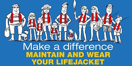 Make a Difference - Maintain & Wear your Lifejacket Hillarys Yacht Club tickets