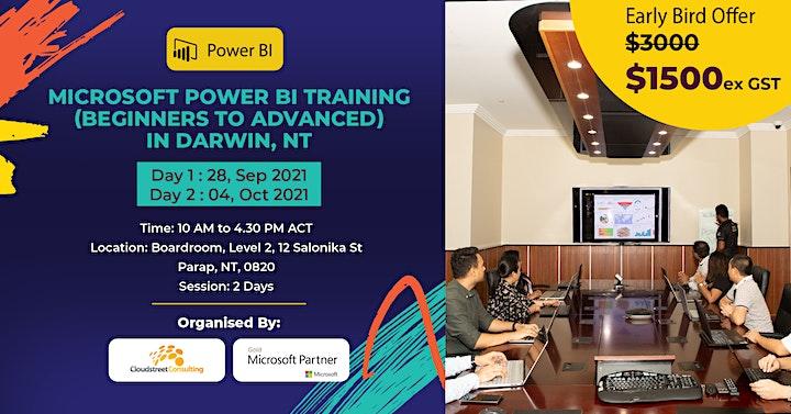 Microsoft Power BI Training (Beginners to Advanced) in Darwin, NT image