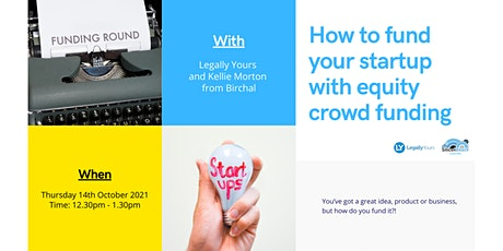How to fund your startup with equity crowd funding tickets