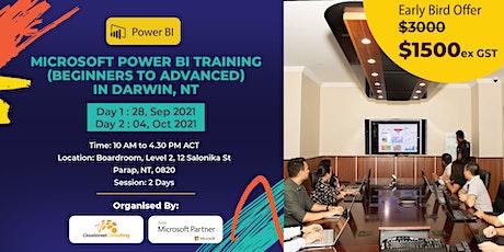 Microsoft Power BI Training (Beginners to Advanced) in Darwin, NT tickets