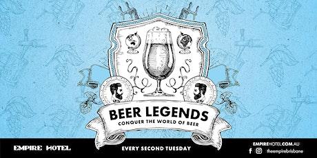 Beer Legends tickets