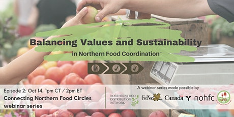 Balancing Values and Sustainability in Northern Food Coordination tickets
