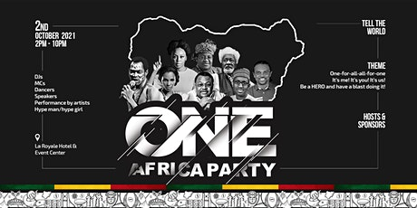 One Africa Party Independence Day Celebration 2021 tickets