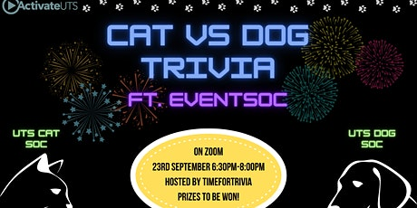 Catsoc vs Dogsoc Trivia ft. EventSoc and TimeForTrivia! tickets