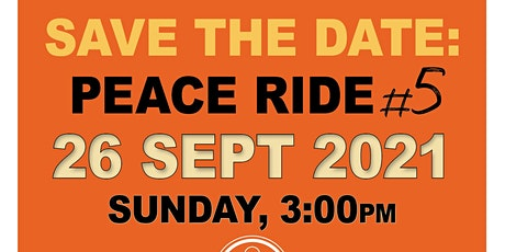 PEACE RIDE #5 tickets
