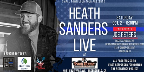 Heath Sanders - Small Town Loud Tour (with Joe Peters) tickets