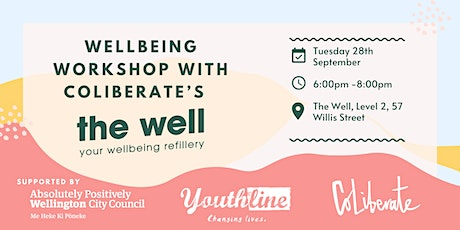 Wellbeing Workshop with The Well tickets