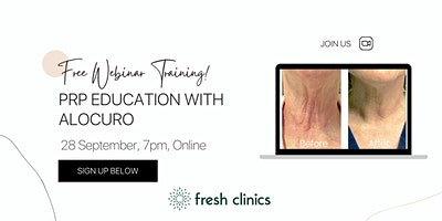 PRP Education with Alocuro