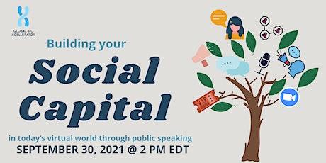 GBX Workshop on Building Social Capital tickets