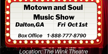 Motown and Soul Music Show - Dalton GA tickets