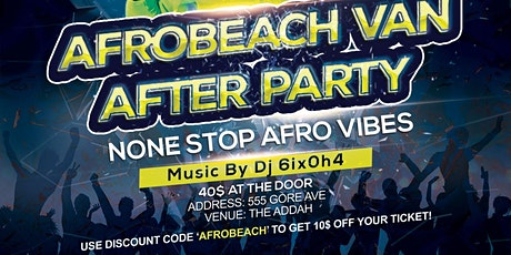 The Official Afrobeach After Party tickets