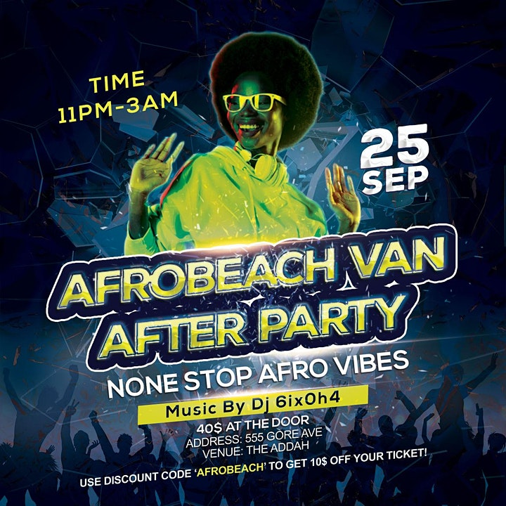 The Official Afrobeach After Party image
