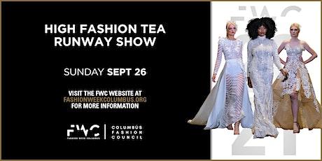 12th  Annual High Fashion Tea Runway Show tickets