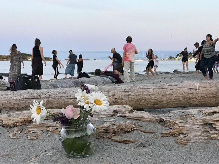 Beach Dance 'n Dip, @ Willows Beach w. silentDJ headsets image