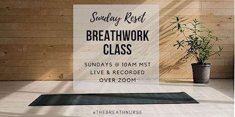 Sunday Reset Breathwork tickets