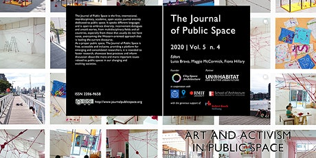 The Journal of Public Space: Art and Activism in Public Space issue launch tickets