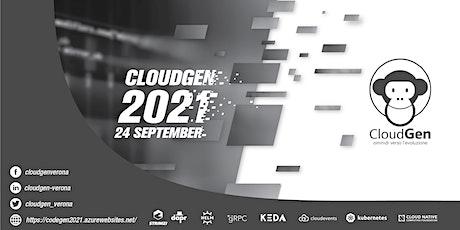 Cloudgen 2021 biglietti