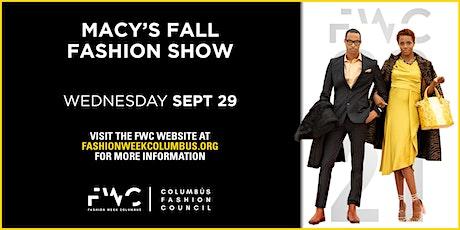 Macys Fall Fashion Show tickets
