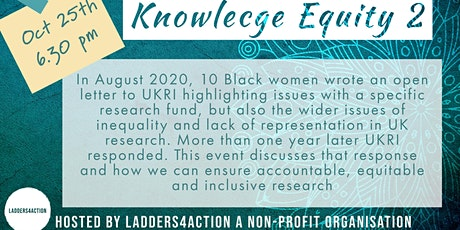 Knowledge Equity 2: Inclusive, Equitable, Accountable Change (2021) billets