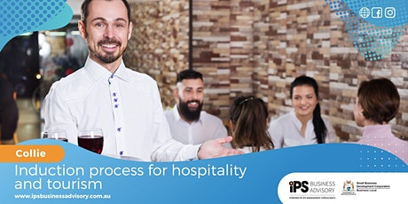 Induction process for hospitality and tourism tickets