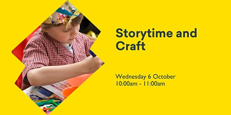 Storytime and Craft tickets