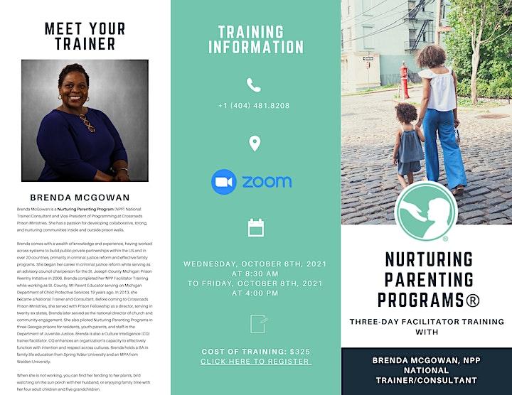 Nurturing Parenting Facilitator Training: Three-Day Workshop (Webinar) image