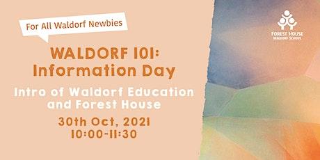 WALDORF 101: Information Day tickets
