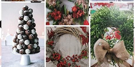 Christmas with Liz & Mal, Willows & Wild Valley Xmas Wreath & Chocolates tickets