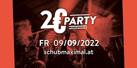 2€ Party Meggenhofen 2022 Tickets