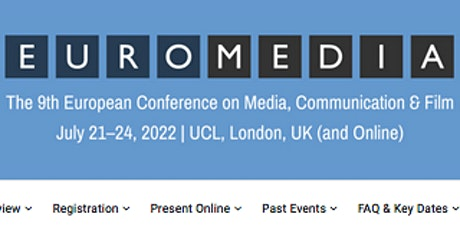 The 9th European Conference on Media, Communication & Film (EuroMedia2022) tickets