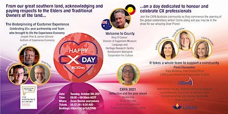 CX Day Australia kick off 2021 Celebrations tickets