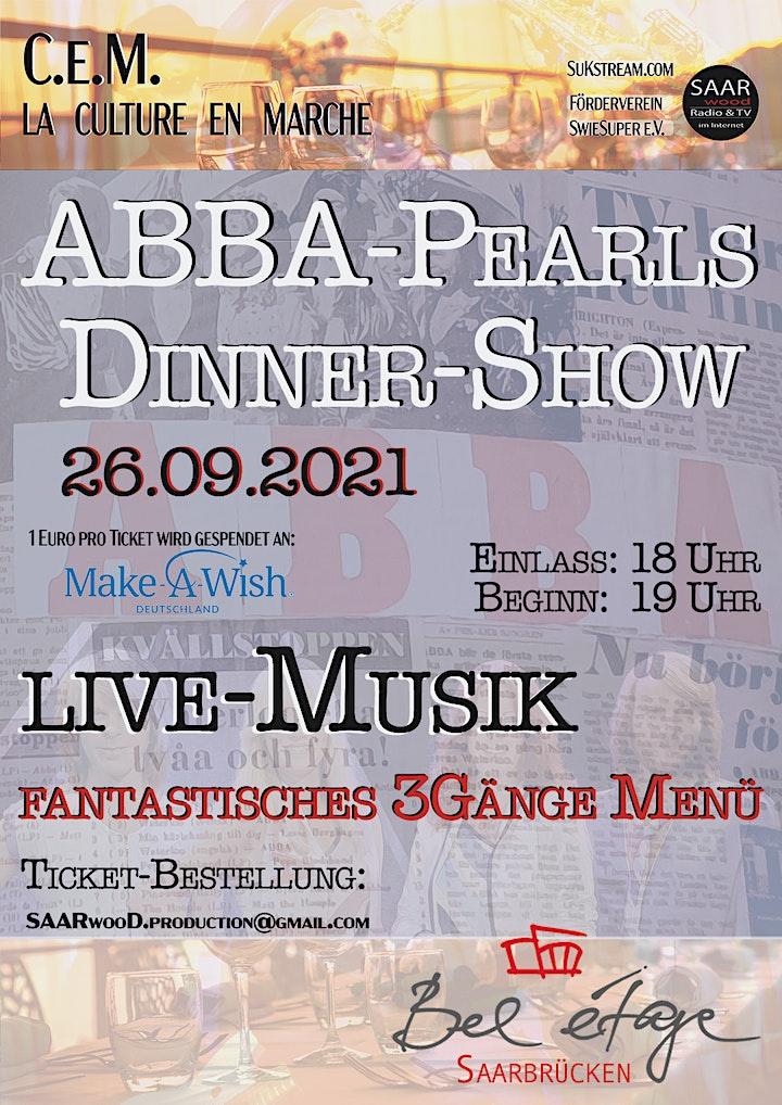 ABBA-Dinner-Show: Bild