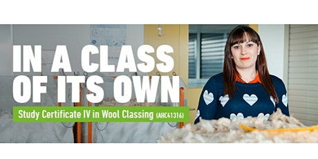 Certificate IV in Wool Classing Information Session tickets