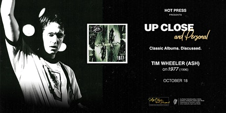Tim Wheeler ( Ash ) - Up Close and Personal - Dublin tickets
