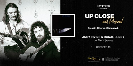Andy Irvine and Donal Lunny - Up Close and Personal - Dublin tickets