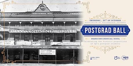 Postgrad Ball tickets