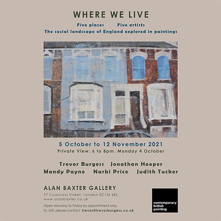 Where We Live Exhibition Private View image