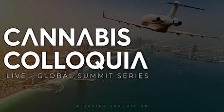 CANNABIS COLLOQUIA - Medical Cannabis - LIVE - Global Summit [ONLINE] tickets