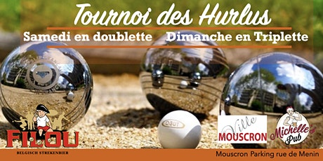 Tournoi de pétanque des Hurlus Doublette et Triplette billets