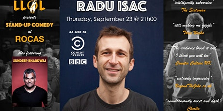 LLOL presents Radu Isac - Stand-up Comedy Night billets