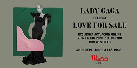 LADY GAGA CELEBRA LOVE FOR SALE entradas