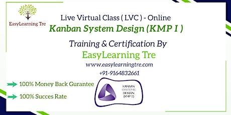 Kanban System Design(KMP-1) Training Certification Online tickets